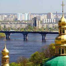 Kiev the capital city of Ukraine